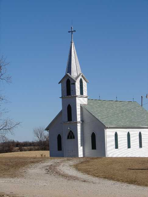 An old country church I ran across in rural Missouri